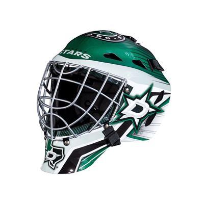 Dallas Stars (Franklin GFM1500 NHL Decal Street Hockey Goalie Mask)
