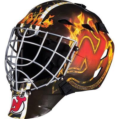 New Jersey Devils (Franklin GFM1500 NHL Decal Street Hockey Goalie Mask)
