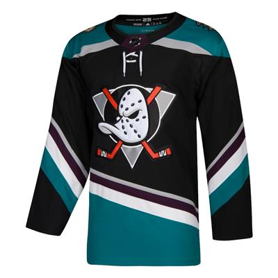 Front (Adidas Anaheim Ducks Authentic NHL Jersey - Third - Adult)