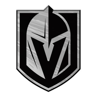 (Chrome Auto Emblem - Vegas Golden Knights)