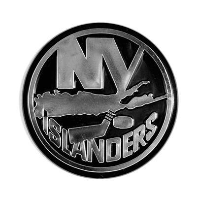 (Chrome Auto Emblem - New York Islanders)