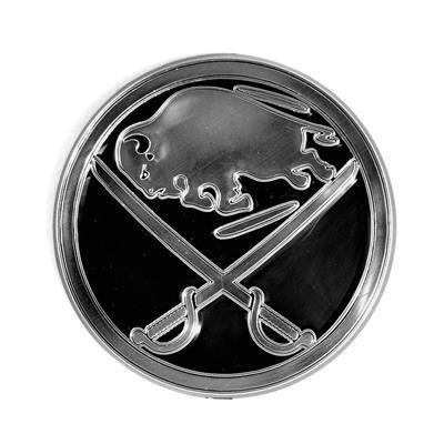 (Chrome Auto Emblem - Buffalo Sabres)
