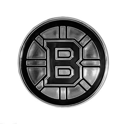 (Chrome Auto Emblem - Boston Bruins)