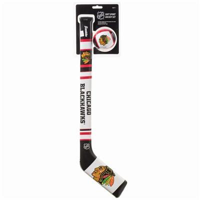 (Franklin NHL Team Soft Sport Mini Hockey Set - Chicago Blackhawks)