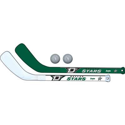 (Franklin NHL Mini Hockey Stick Set - Dallas Stars)