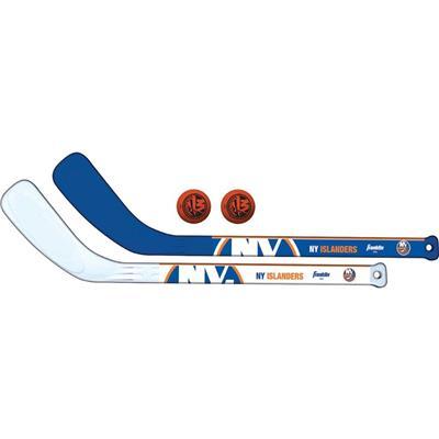 (Franklin NHL Mini Hockey Stick Set - New York Islanders)