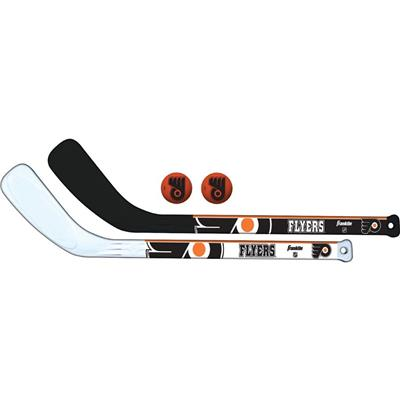 (Franklin NHL Mini Hockey Stick Set - Philadelphia Flyers)