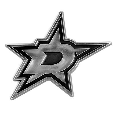 (Chrome Auto Emblem - Dallas Stars)