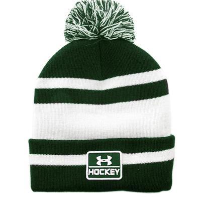 (Under Armour Hockey Pom Knit Hat - Adult)