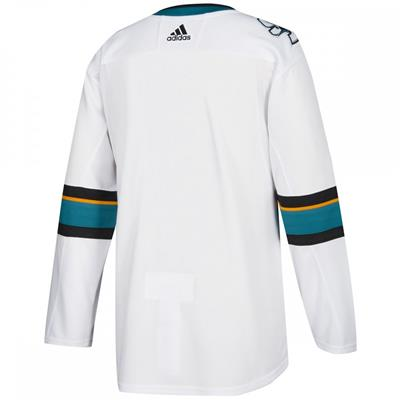 Back (Adidas NHL San Jose Sharks Authentic Jersey - Adult)