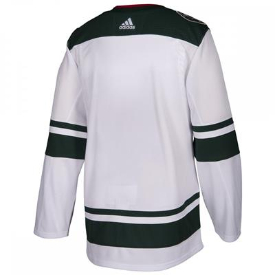 Back (Adidas NHL Minnesota Wild Authentic Jersey - Adult)