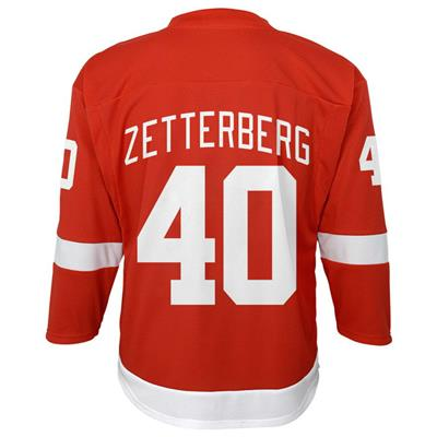 (Adidas Detroit Red Wings Zetterberg Jersey - Youth)