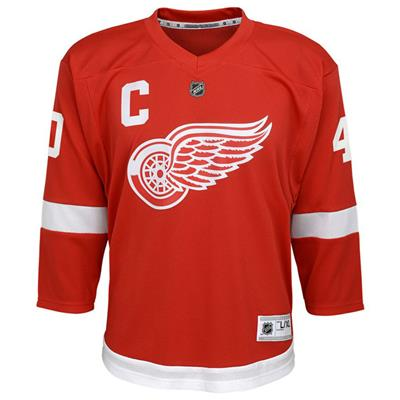 Front (Adidas Detroit Red Wings Zetterberg Jersey - Youth)