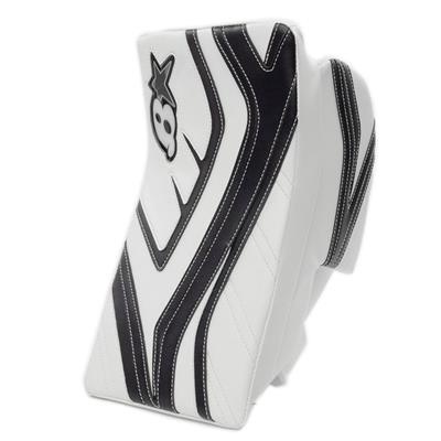 White/Navy (Brians GNETiK IV Goalie Blocker - Senior)