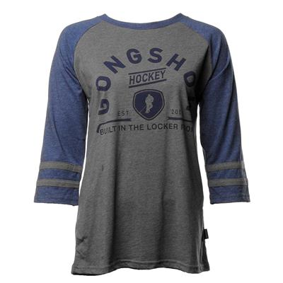 (Gongshow Sniping Stripes Raglan Tee Shirt - Womens)