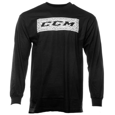 (CCM Holiday Long Sleeve Tee Shirt - Adult)