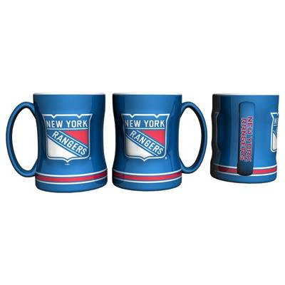 New York Rangers (14oz NHL Relief Mug - New York Rangers)