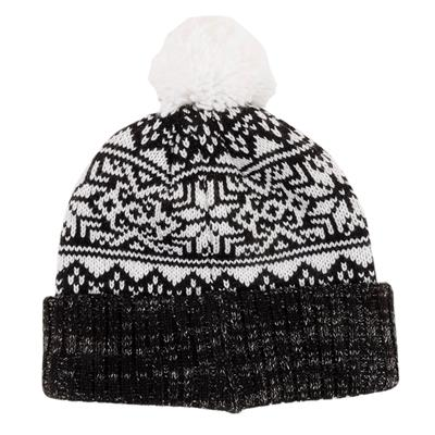 Back (CCM Holiday Knit Hat - Adult)