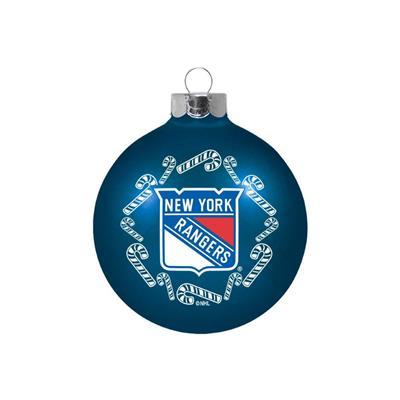 (NHL Small Ball Ornament - New York Rangers)
