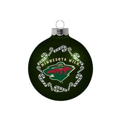 (NHL Small Ball Ornament - Minnesota Wild)
