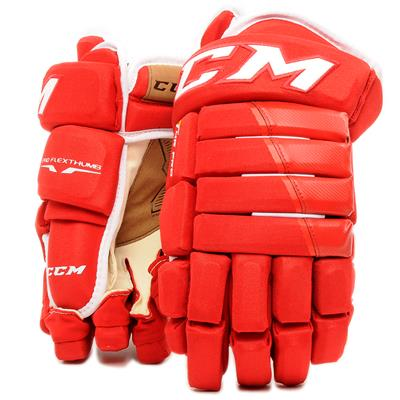 Red (CCM 4R Pro Hockey Gloves - Senior)