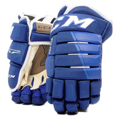 Royal (CCM 4R Pro Hockey Gloves - Senior)