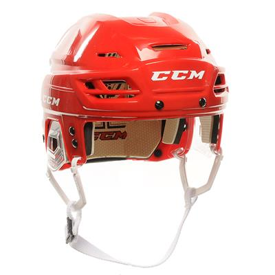 Red (CCM Tacks 110 Hockey Helmet)