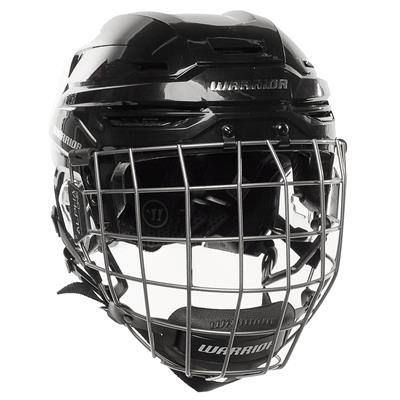 Black (Warrior Alpha One Combo Hockey Helmet)