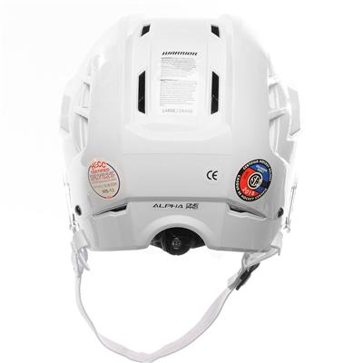 (Warrior Alpha One Pro Hockey Helmet)