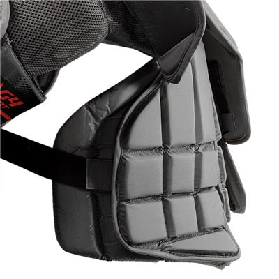 (Warrior Ritual G4 Goalie Chest and Arm Protector - Intermediate)