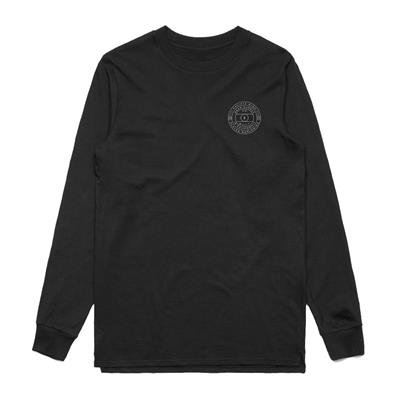 Front (Pacific Rink Face-Off Long Sleeve Tee Shirt - Adult)