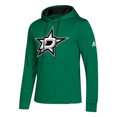 Front (Adidas NHL Performance Hoodie - Dallas Stars - Mens)