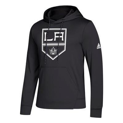 Front (Adidas NHL Performance Hoodie - Los Angeles Kings - Mens)