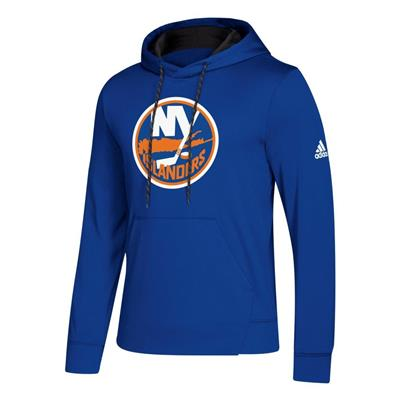 Front (Adidas NHL Performance Hoodie - New York Islanders - Mens)