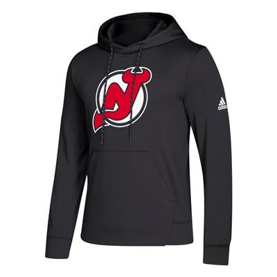 Front (Adidas NHL Performance Hoodie - New Jersey Devils - Mens)