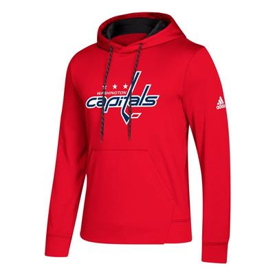 Front (Adidas NHL Performance Hoodie - Washington Capitals - Mens)