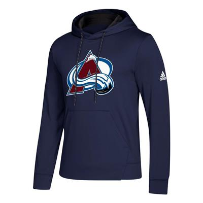 Front (Adidas NHL Performance Hoodie - Colorado Avalanche - Mens)