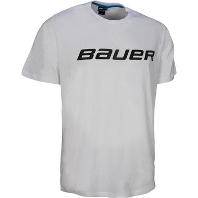 White (Bauer Core Tee Shirt - Boys)