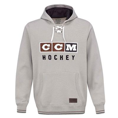 Light Grey (CCM Classic Lace Fleece Hoodie - Adult)