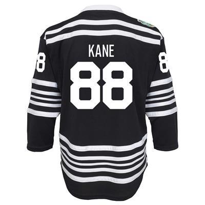 Back (Adidas Chicago Blackhawks 2019 Winter Classic Replica Jersey - Patrick Kane - Youth)