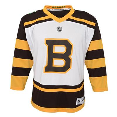 Front (Adidas Boston Bruins 2019 Winter Classic Replica Jersey - Youth)