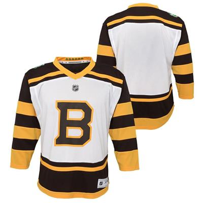(Adidas Boston Bruins 2019 Winter Classic Replica Jersey - Youth)