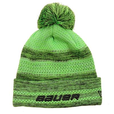 (Bauer New Era Color Pop Pom Knit Hat - Youth)