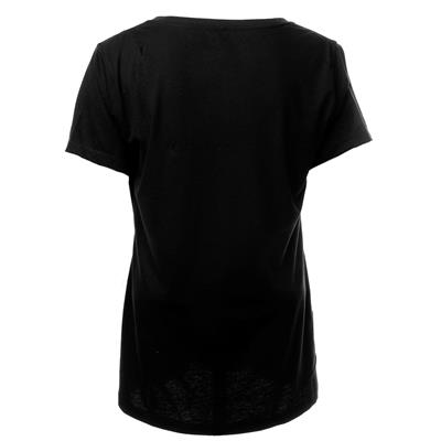 Back (Bauer Core Color Pop Short Sleeve V-Neck Tee Shirt - Womens)