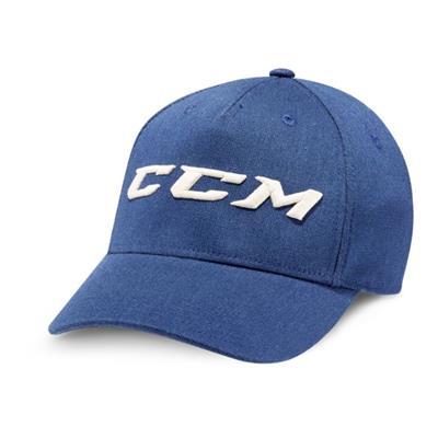 (CCM Authenticity Denim Flex Cap - Adult)
