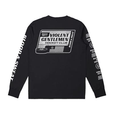 Back (Violent Gentlemen Blood & Sweat Long Sleeve Tee - Mens)