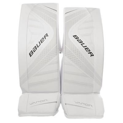 White (Bauer Vapor X700 Goalie Leg Pads - Senior)