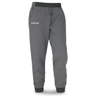 Grey (CCM Core Fleece Cuffed Sweatpants - Youth)