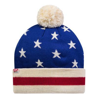 Back (USA Hockey 1976 Knit Pom Hat - Adult)