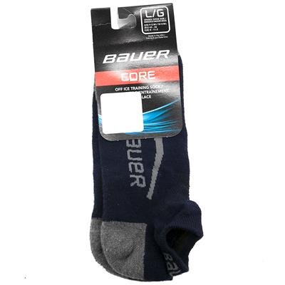 Navy (Bauer Core Ankle Cut Hockey Socks - 2017 - Adult)
